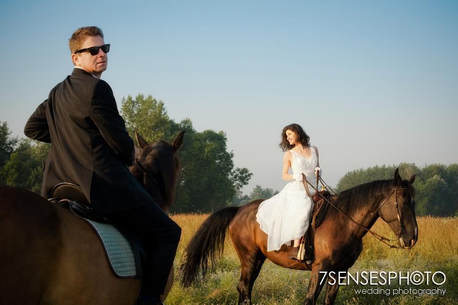 7sensesphoto sesja slubna plener konie 18