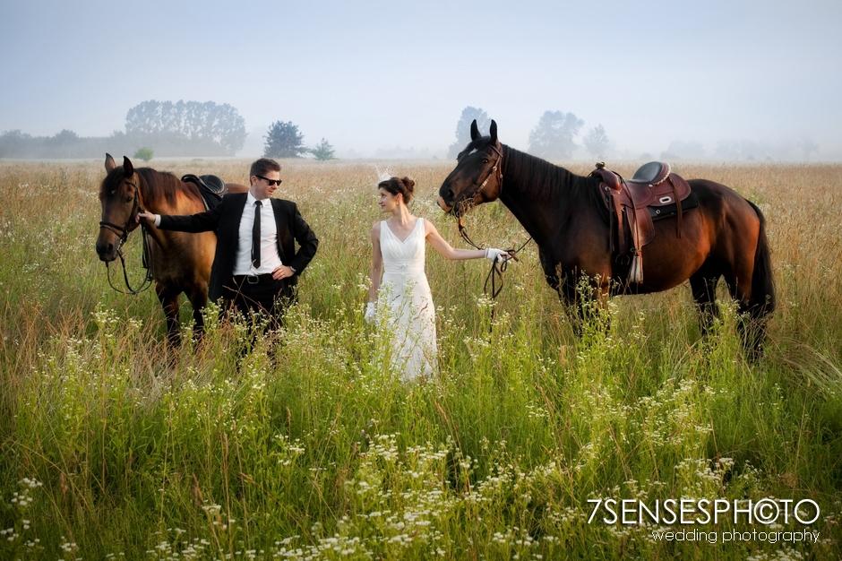 7sensesphoto sesja slubna plener konie 5