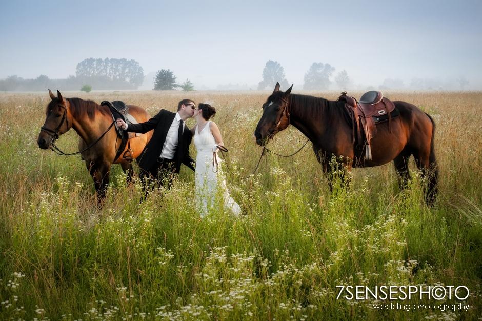 7sensesphoto sesja slubna plener konie 6