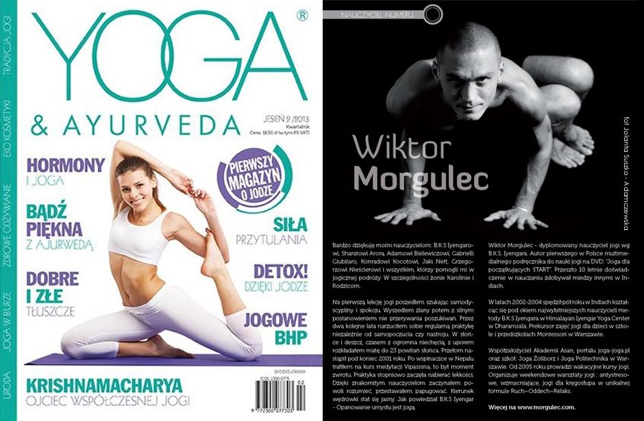 Wiktor Morgulec Jolanta Suszko Adamczewska Yoga & Ayurveda
