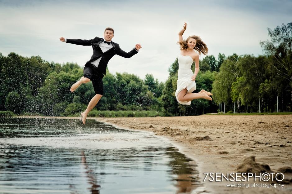 7SENSESPHOTO sesja ślubna jezioro molo 30
