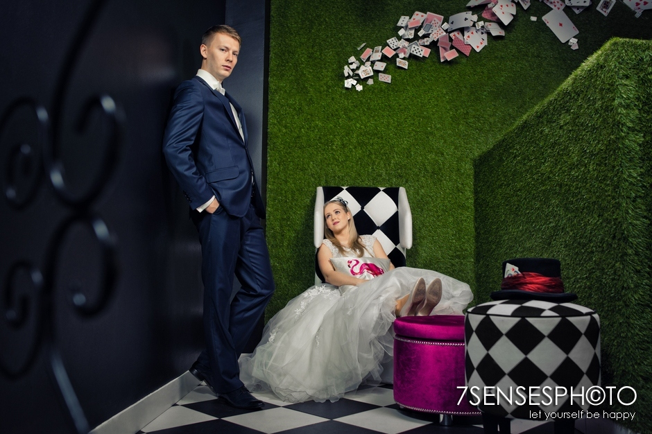 7SENSESPHOTO Alicja w Krainie Czarow sesja slub 13
