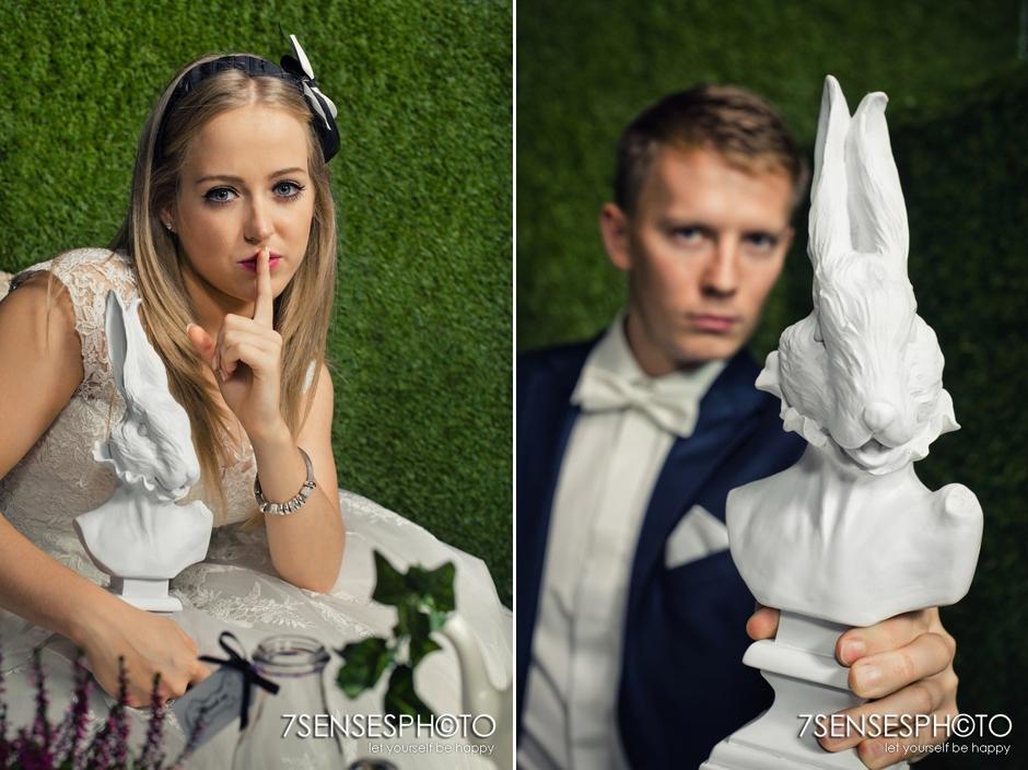 7SENSESPHOTO Alicja w Krainie Czarow sesja slub 19