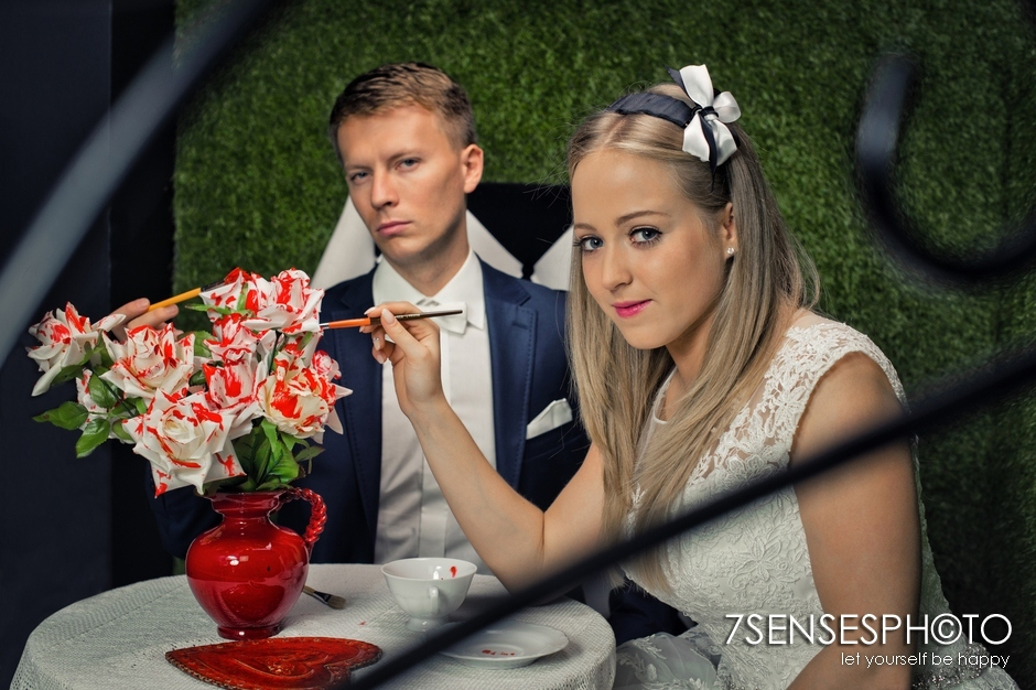 7SENSESPHOTO Alicja w Krainie Czarow sesja slub 27