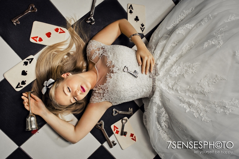 7SENSESPHOTO Alicja w Krainie Czarow sesja slub 8