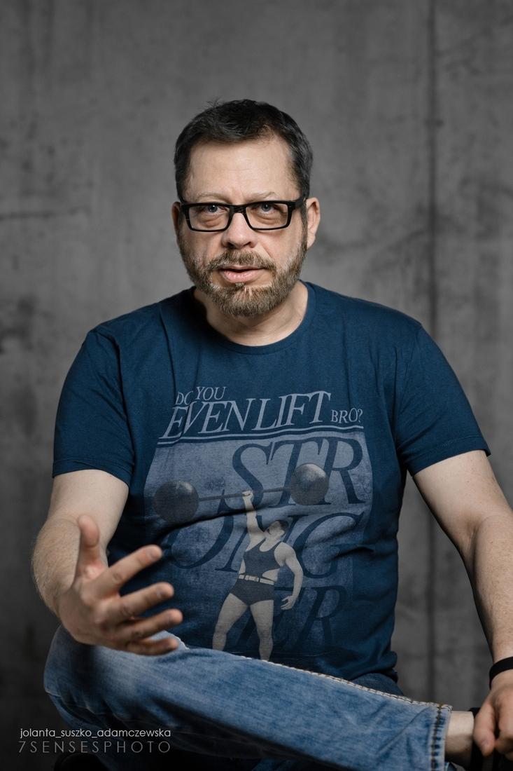 Tomek Raczek pubicysta recenzent filmowy Jolanta Suszko Adamczewska 7SENSESPHOTO