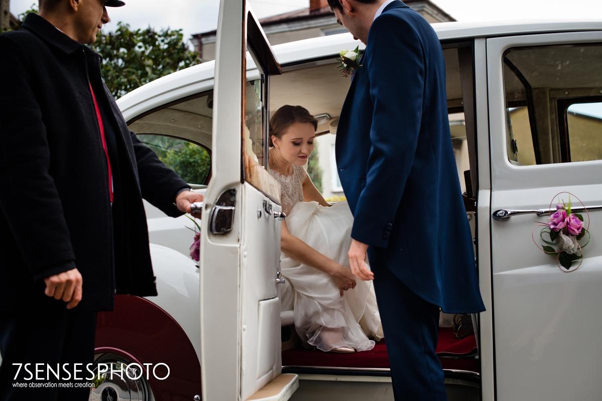Limuzyna do ślubu Warszawa i okolice 7SENSESPHOTO fotografia ślub wesele profesjonalnie