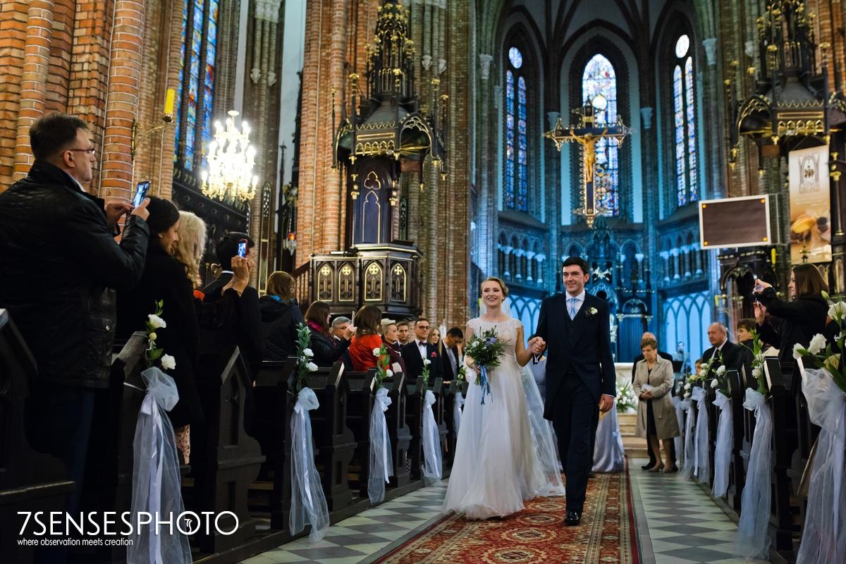 Parafia Katedralna p.w. Niepokalanego Poczęcia Najświętszej Maryi Panny w Siedlcach ślub ceremonia fotografia 7SENSESPHOTO
