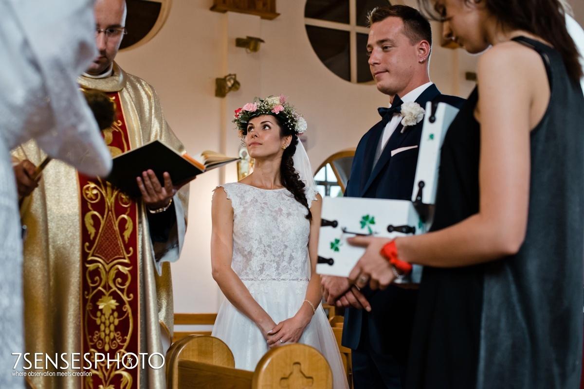 ślub GIŻYCKO Rzymskokatolicka Parafia Wojskowo Cywilna pw. Ducha Świętego Pocieszyciela