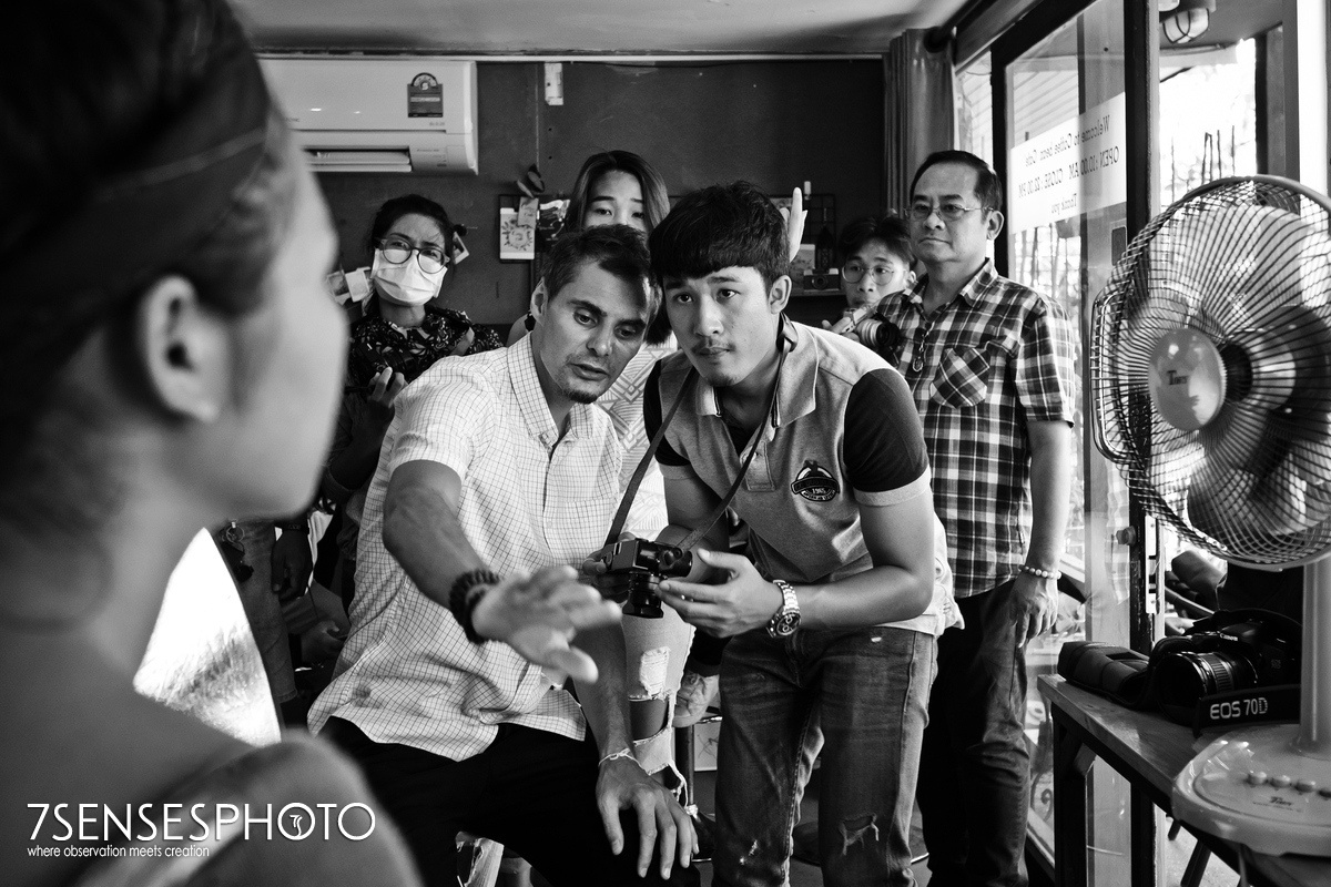 photo workshop Leica Thailand Khon Kaen 7SENSESPHOTO Maciej Meru Adamczewski Coffee Bean Cafe