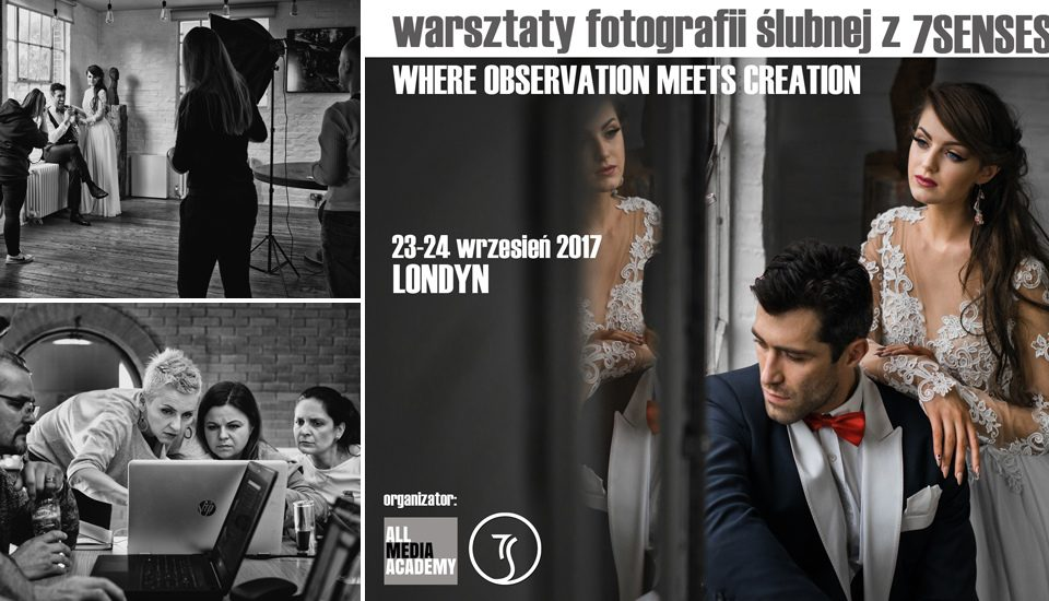 Wedding Photography Workshop in London