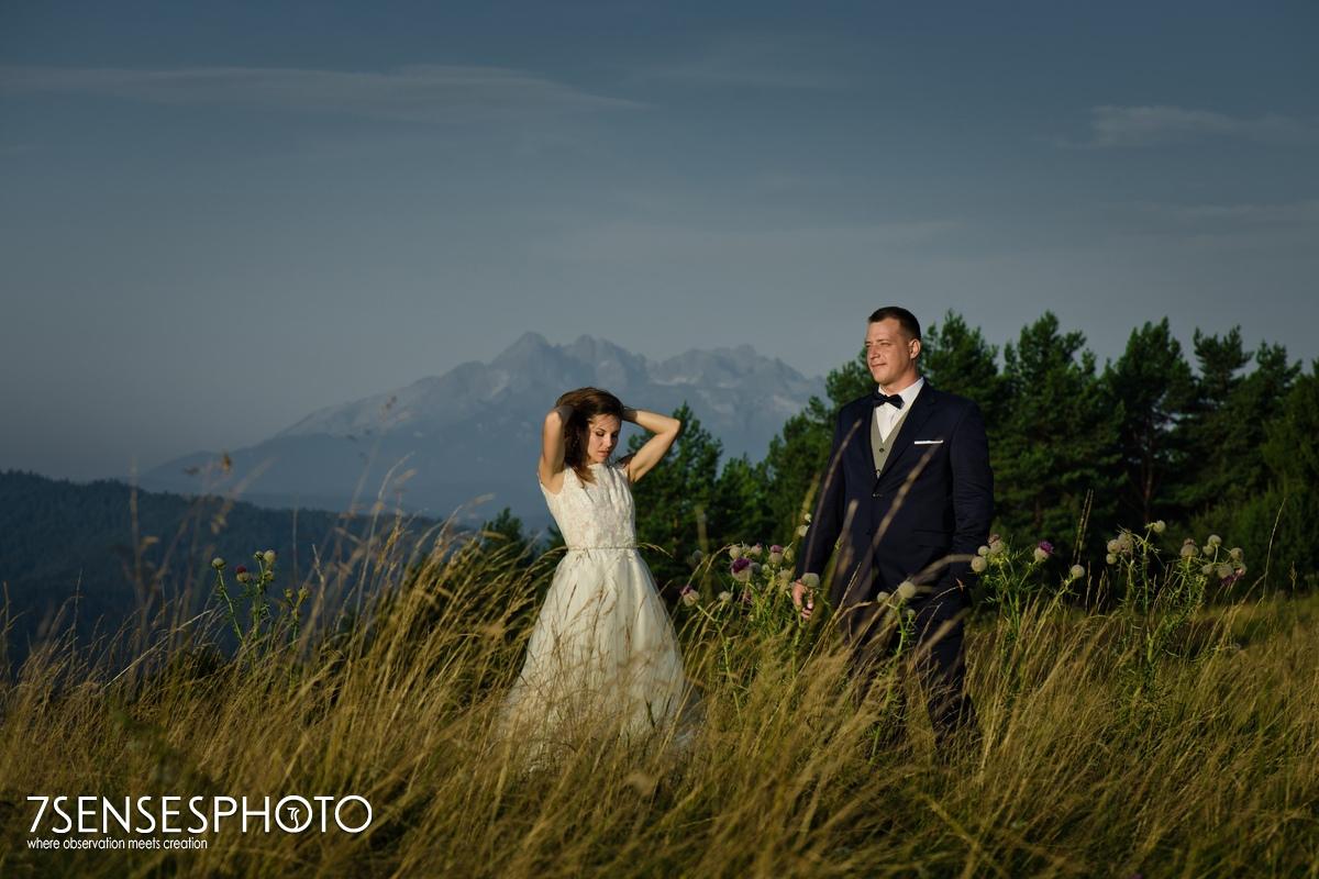plener w górach Małe Pieniny Tatry sesja fotograficzna