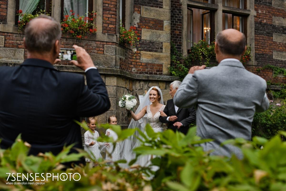 pałac żeleńskich ślub wesele fotografia