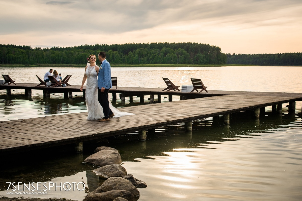 wyjątkowy ślub wesele 7SENSESPHOTO Hotel Jablon Lake Resort Pisz