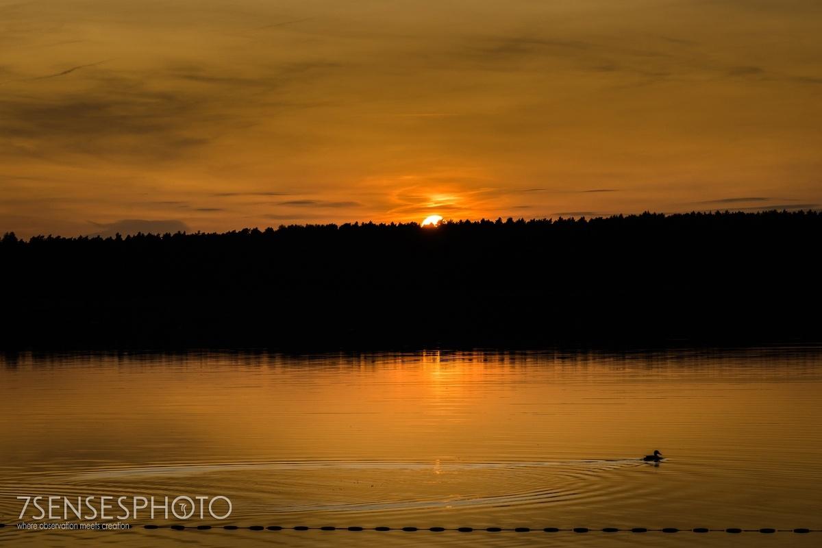 sunset 7SENSESPHOTO wedding photography Hotel Jablon Lake Resort Pisz