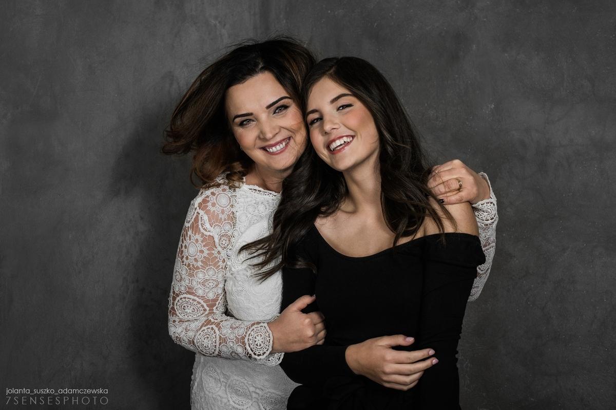 matka i córka sesja fotograficzna