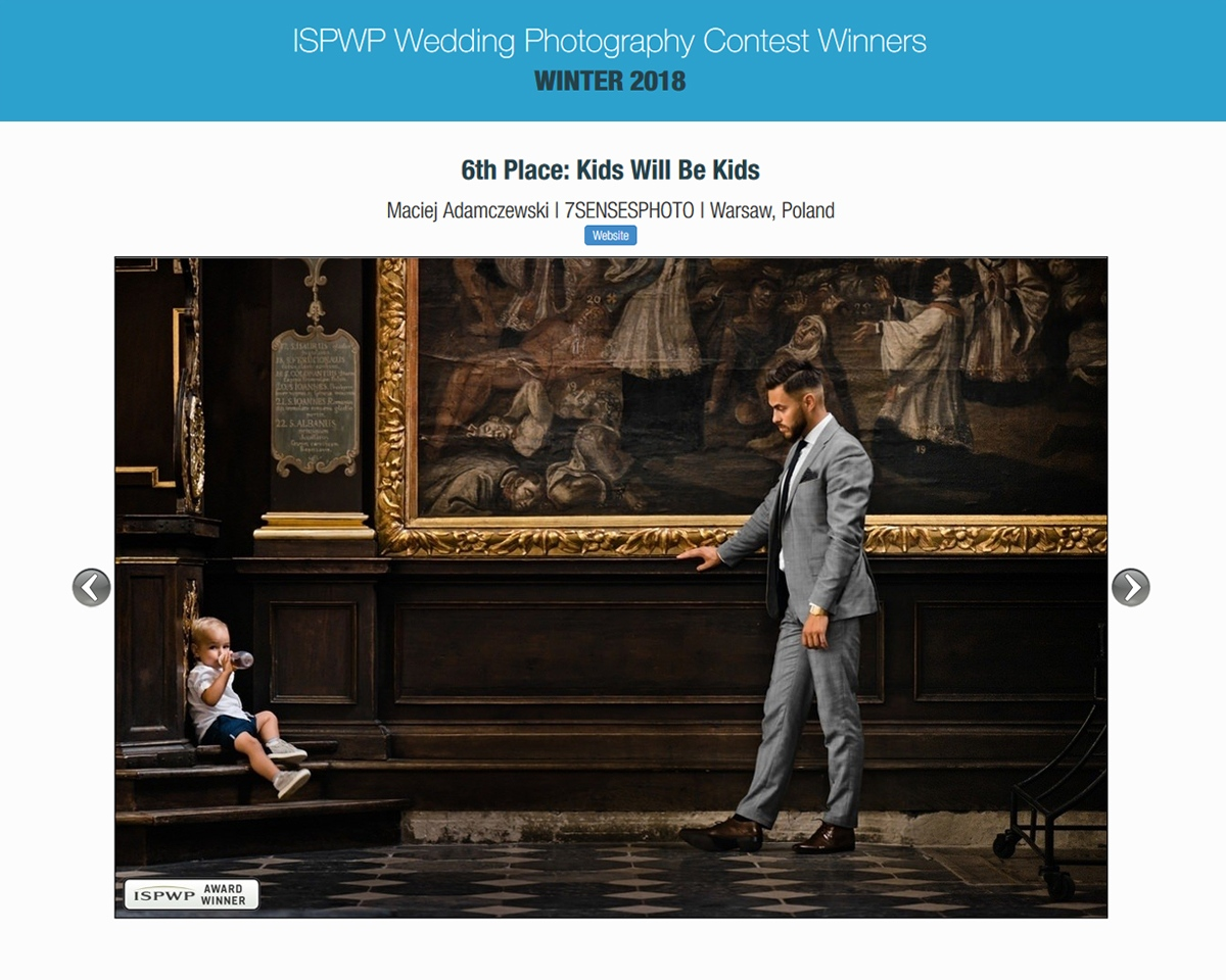 ISPWP wyniki konkursu 7SENSESPHOTO