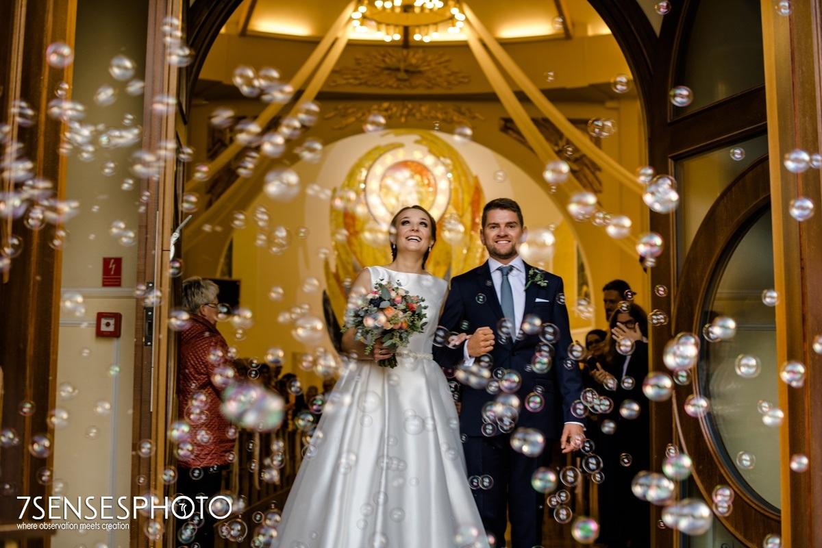 ślub Warszawa wesele Para Młoda Hotel Riviera
