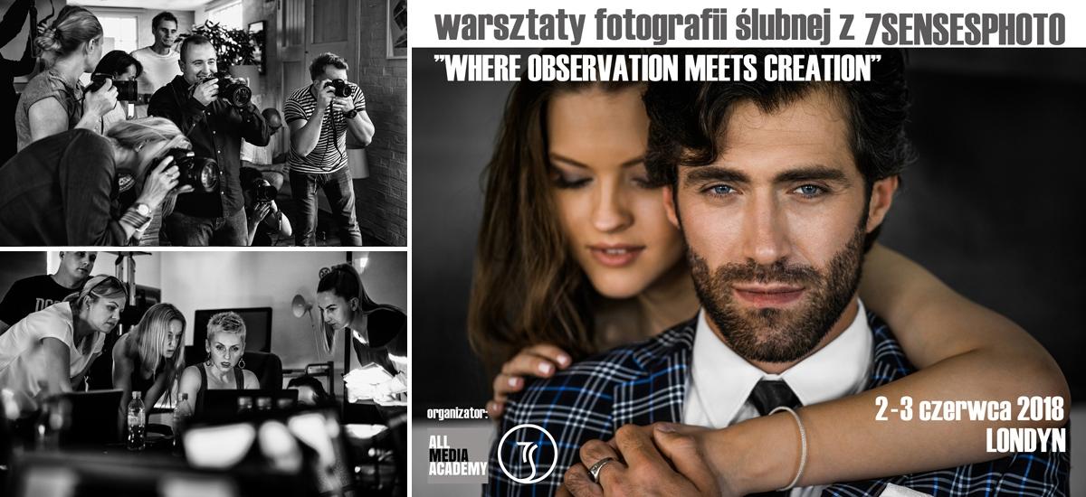 fotografia slubna warsztaty Londyn Warszawa All Media Academy