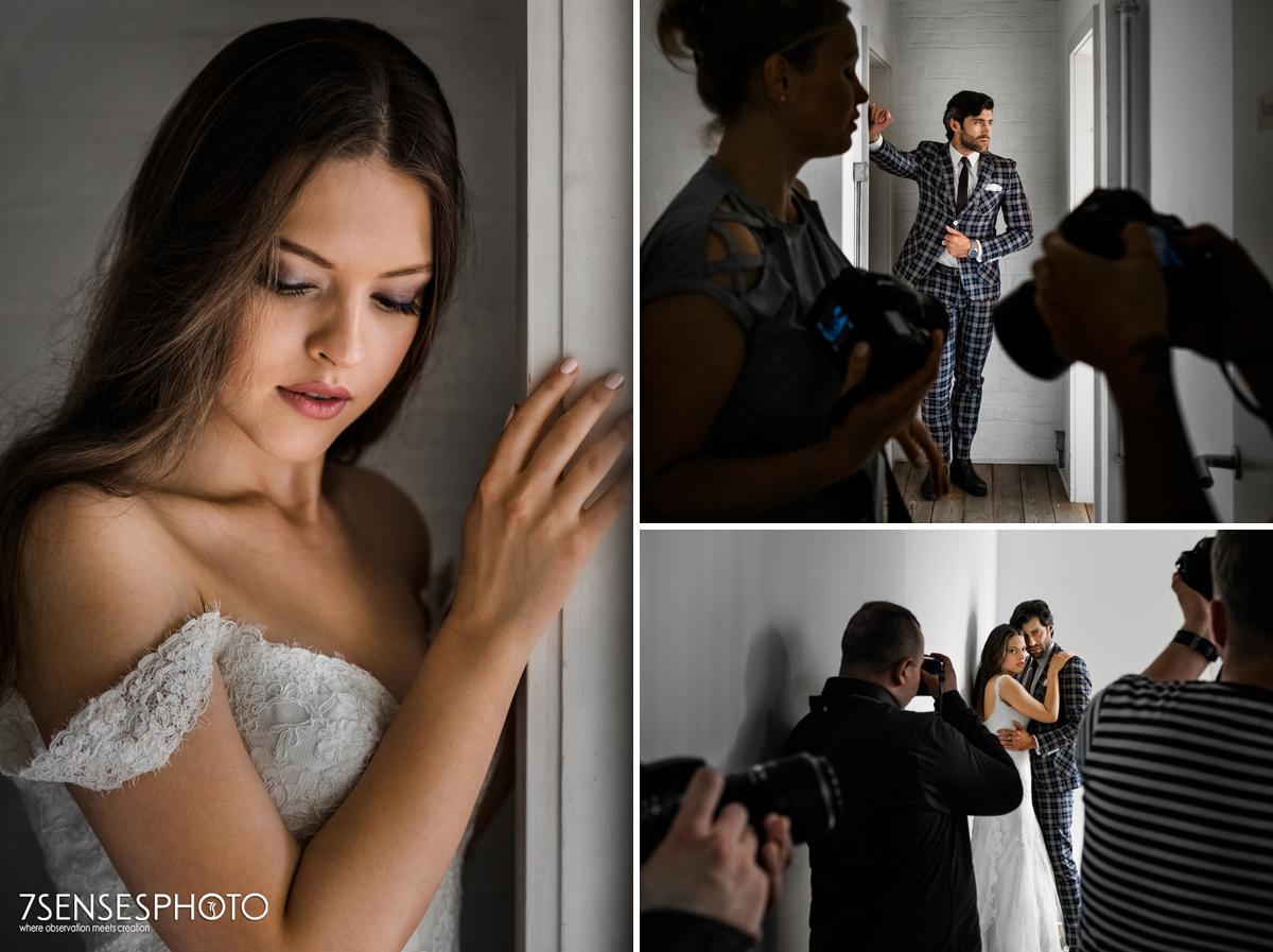 Amela Krzapa Kamil Lemieszewski model profesjonalna fotografia ślubna 7SENSESPHOTO Londyn Warszawa All Media Academy