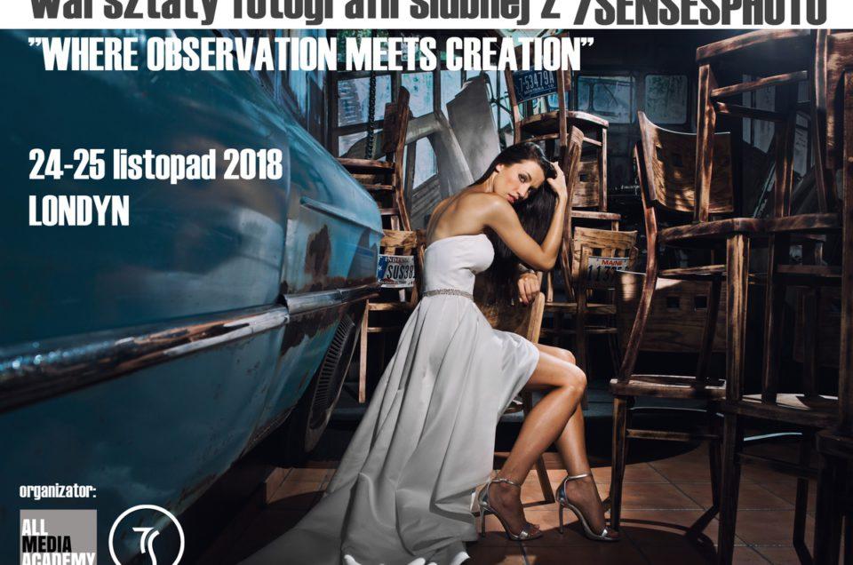 Warsztaty fotografii ślubnej, 24-25 LISTOPAD 2018, Londyn, III edycja