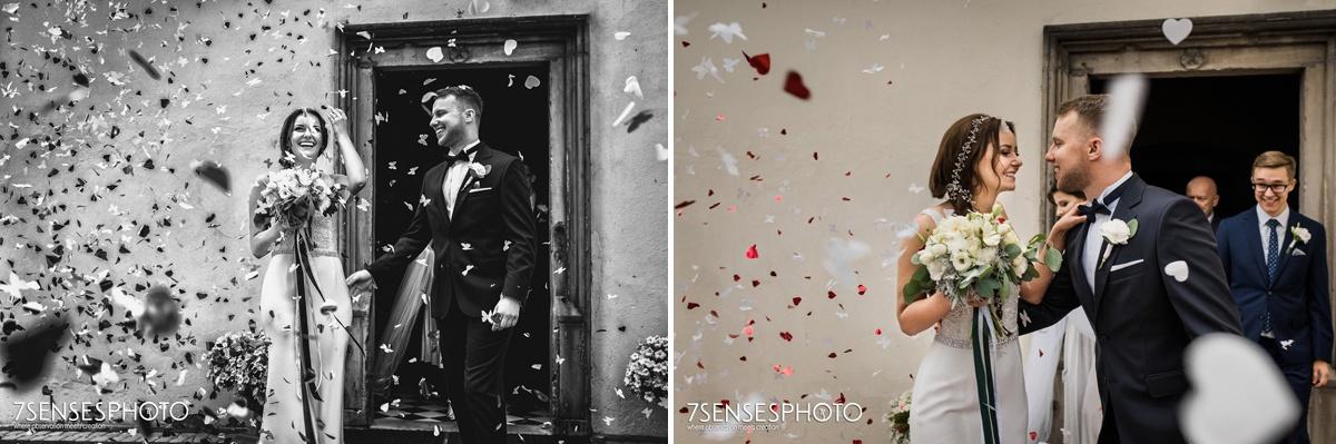ślub ceremonia kościół Bidziny świętokrzyskie wyjątkowa fotografia ślubna