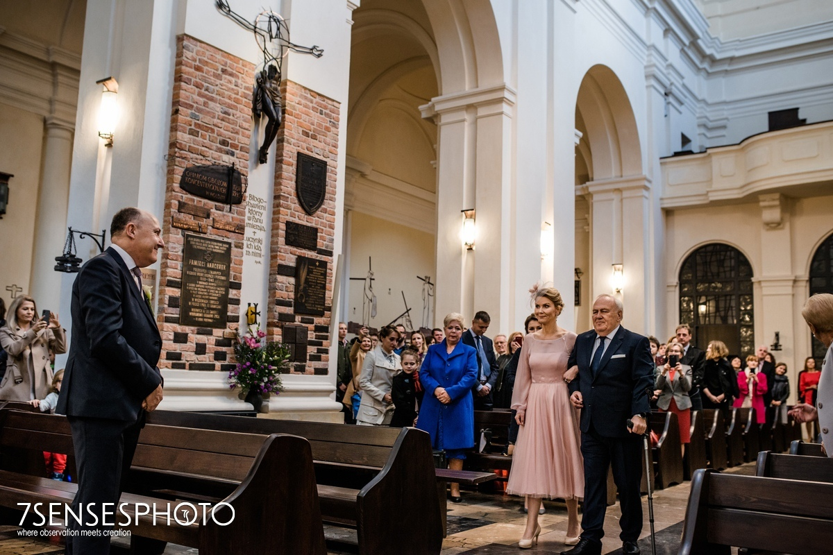 kościół św Marcina Warszawa Stare Miasto Piwna ślub
