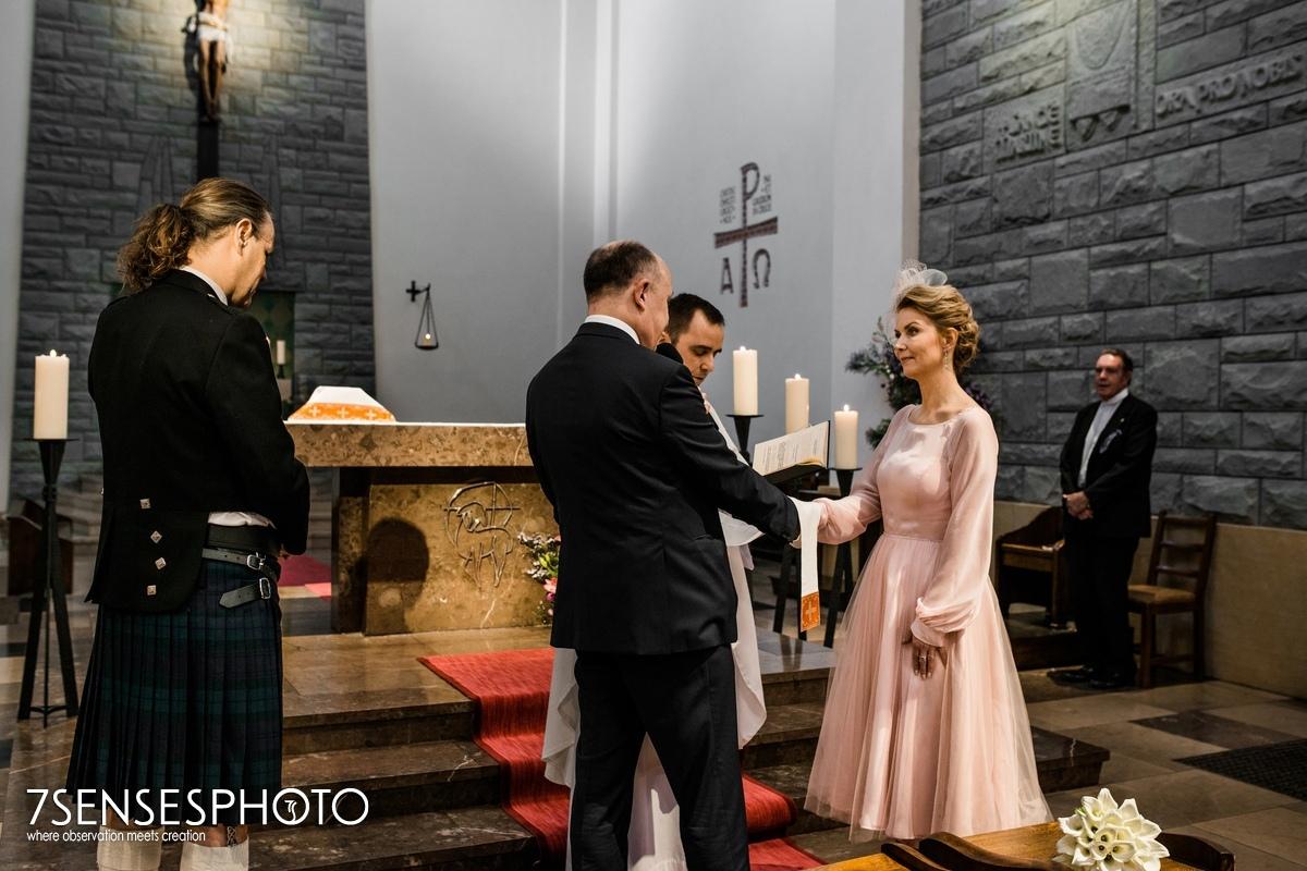 kościół św Marcina Warszawa Stare Miasto Piwna ślub ceremonia
