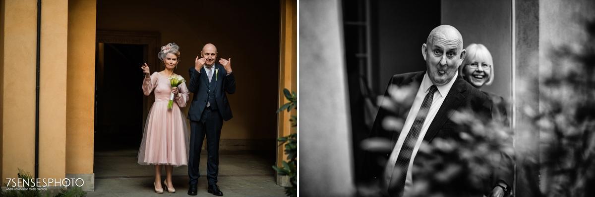 Warszawa fotoreportaż ślubny Stare Miasto ślub wedding