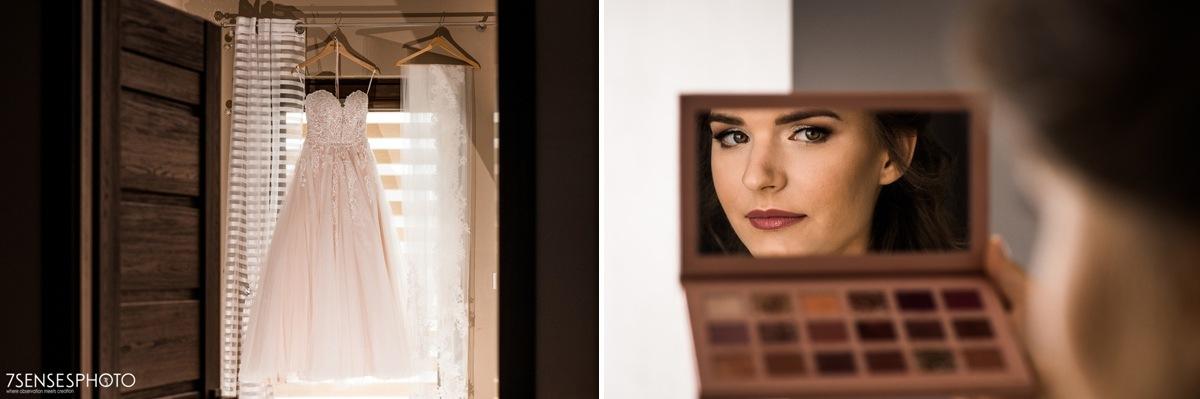 fotograf ślubny 7SENSESPHOTO panna młoda makijaż roksana makowska