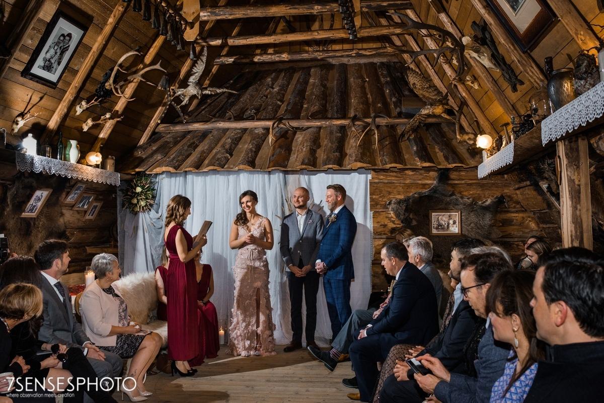 wedding ceremony Zakopane Bakowa Zohylina Niznio Piłsudskiego 6