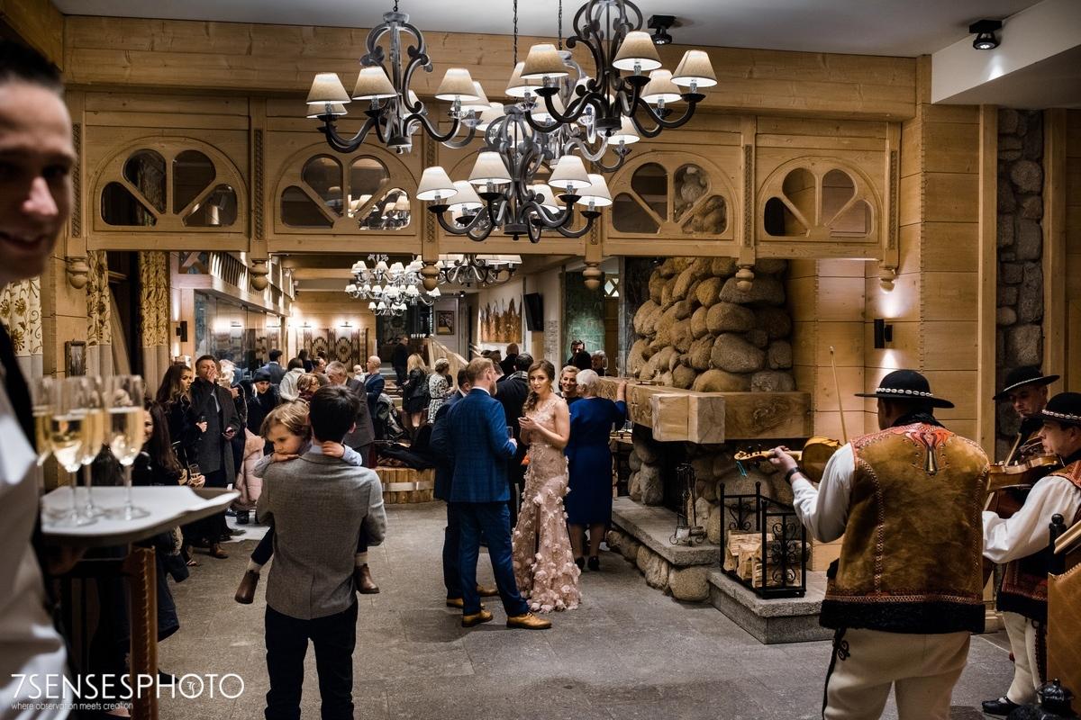 wedding reception Zakopane Aries hotel Zaruskiego 5 Halka restaurant