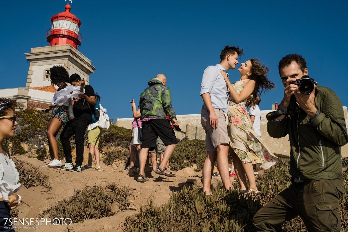 Cabo da Roca, Portugalia, Lizbona, wyjątkowa sesja narzeczeńska 7SENSESPHOTO