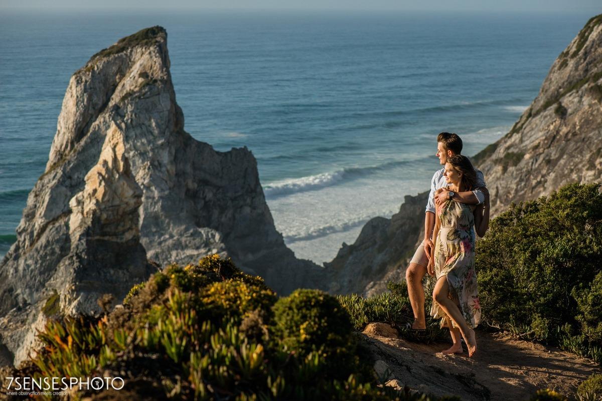 Cabo da Roca, Portugalia, Lizbona, wyjątkowa, piękna sesja narzeczeńska 7SENSESPHOTO
