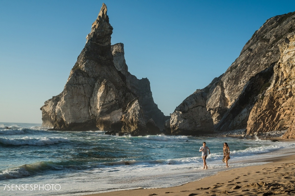 Praia da Ursa, Cabo da Roca, Portugalia, Lizbona, wyjątkowa, piękna sesja narzeczeńska 7SENSESPHOTO
