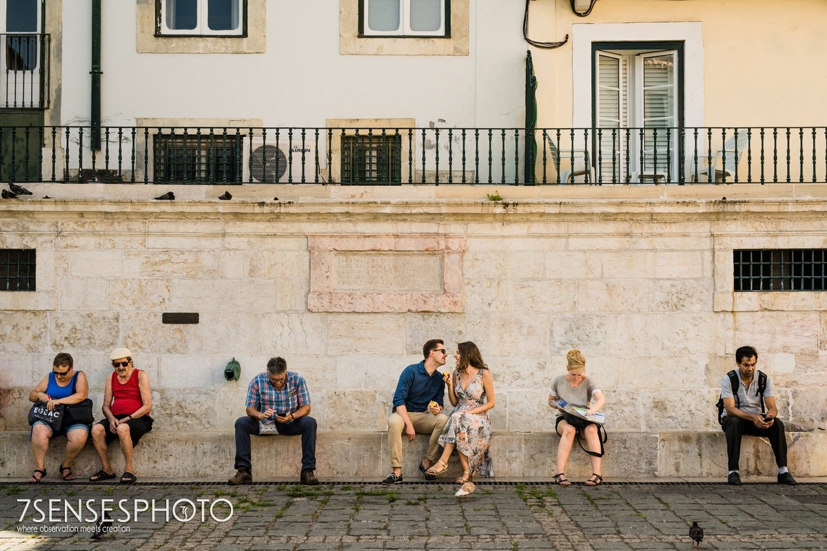 Portugalia, Lizbona, fantastyczna, piękna sesja narzeczeńska 7SENSESPHOTO street photo