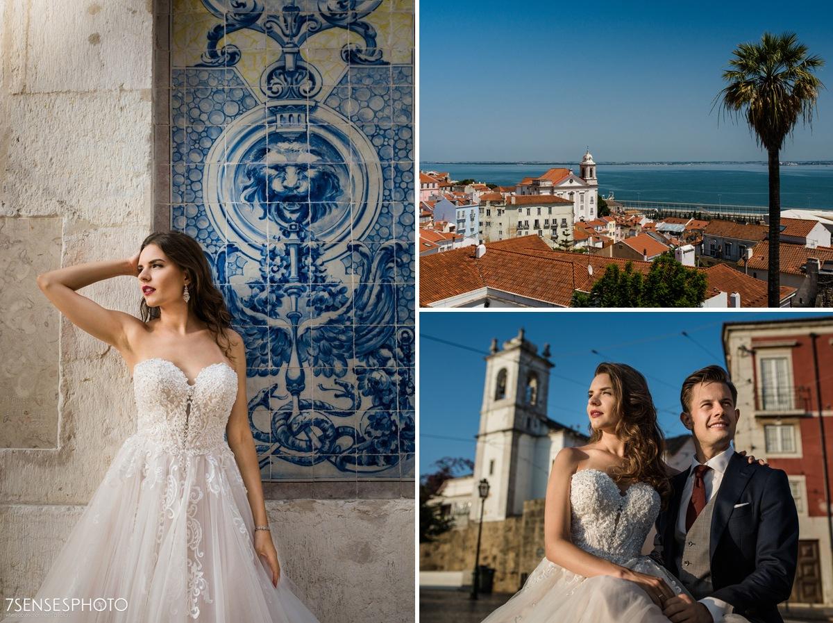 Portugalia, Lizbona, wyjątkowa sesja ślubna
