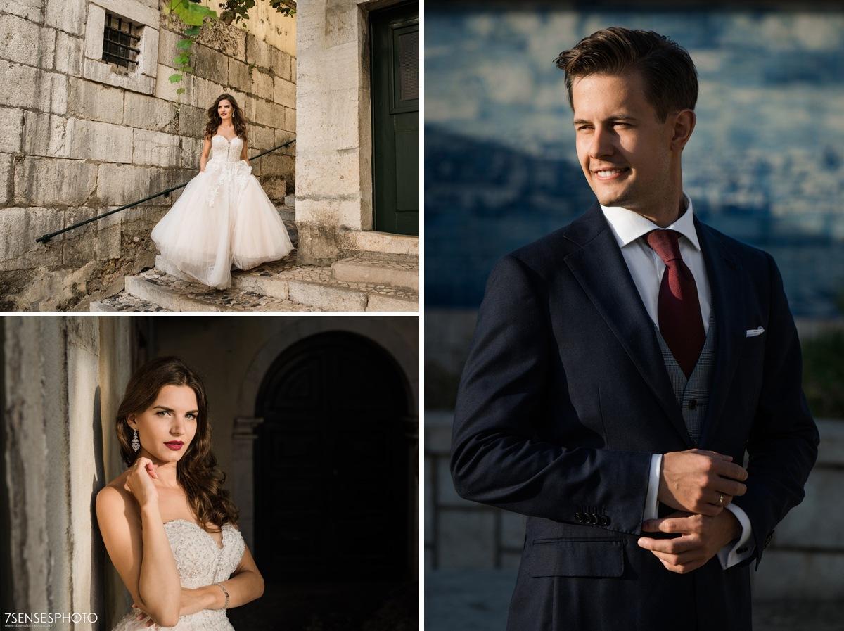Romantyczna, wyjątkowa, klimatyczna sesja ślubna w Lizbonie, Portugalia, plener za granicą