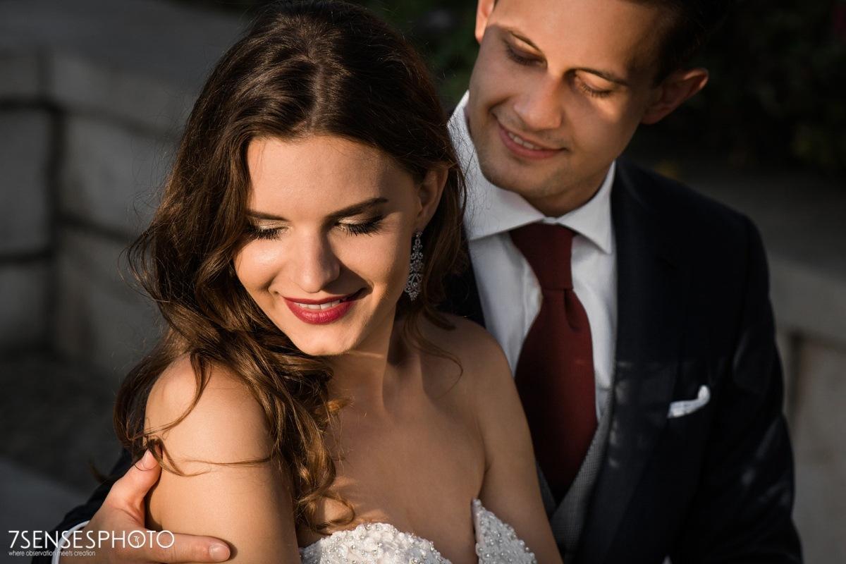 Romantyczna, magiczna sesja ślubna w Lizbonie, Portugalia, dzielnica Alfama