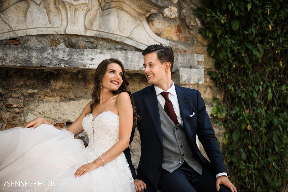 Castelo de São Jorge, Lisboa, Portugal, wedding photoshoot